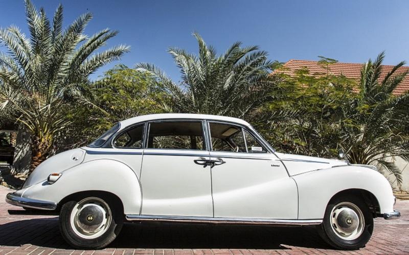 1963 White BMW 502 | First Car Classic