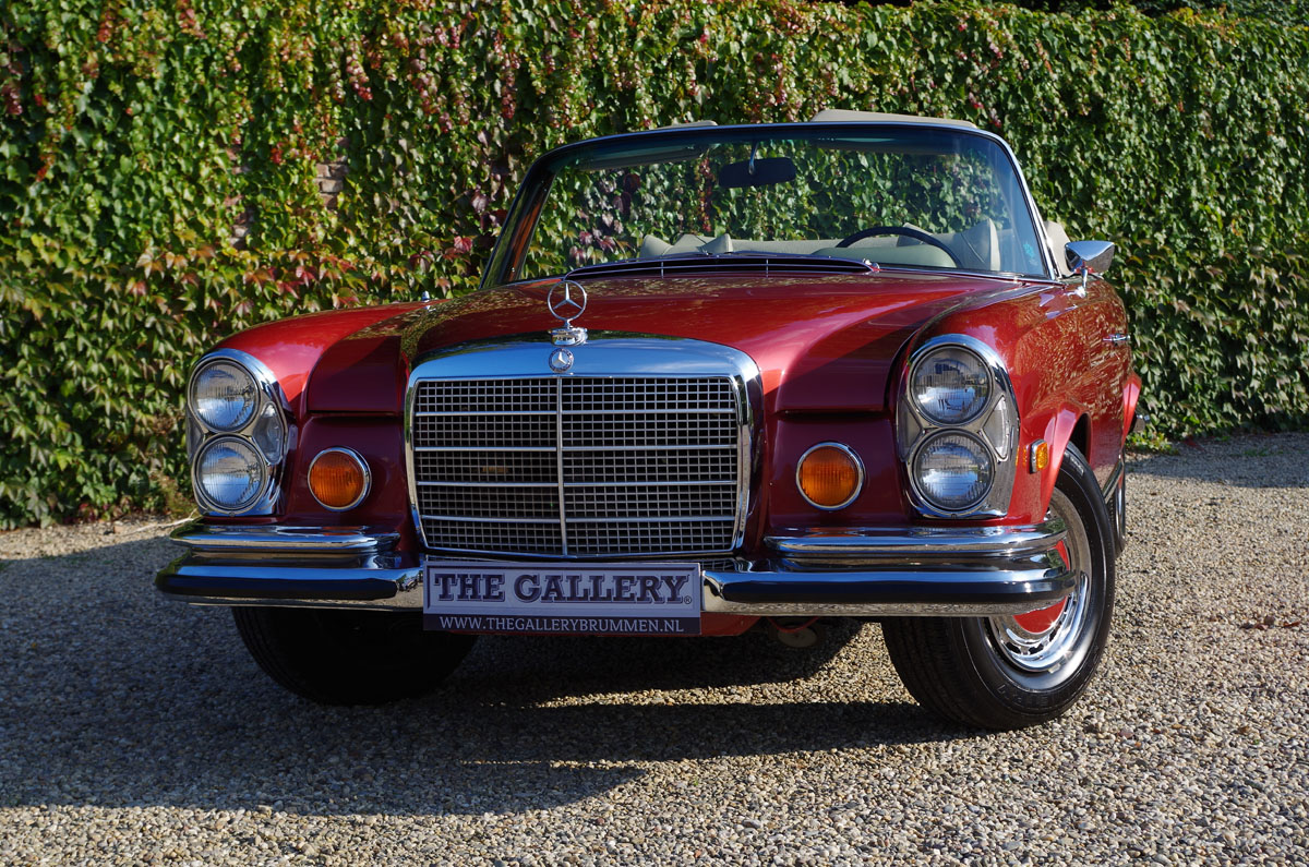 1971 mercedes benz 280 se 3 5 v8 convertible first car for Mercedes benz coupe convertible