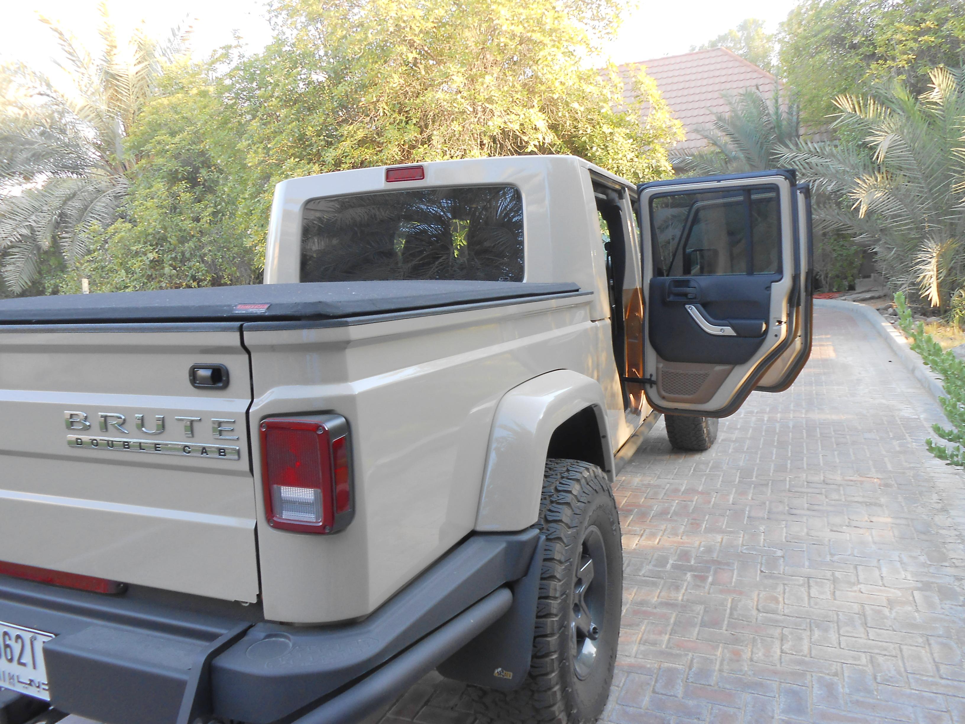Jeep Wrangler 2016 Brute Double Cab
