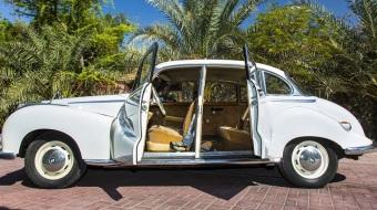 1963 White BMW 502