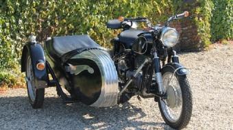 1956 BMW Bike R26
