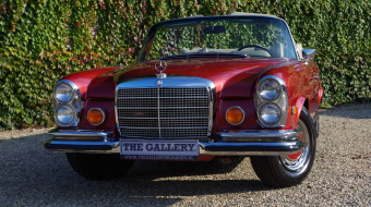1971 Mercedes Benz 280 SE 3.5 V8 Convertible