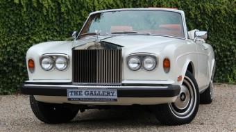 Stunning Rolls Royce Corniche Convertible Automatic